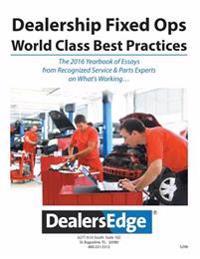 Dealersedge Fixed Ops - World Class Best Practices