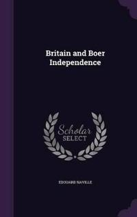 Britain and Boer Independence