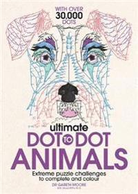Ultimate dot to dot animals - extreme puzzle challenges to complete and col