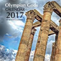 Olympian Gods Calendar 2017: 16 Month Calendar