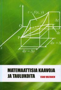 Matemaattisia kaavoja ja taulukoita