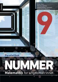 Nummer 9 - parallellbok - Arne Hole, Renate Jensen, Helga Kufaas Tellefsen, Anne Karin Wallace   Inprintwriters.org