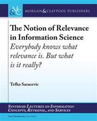 Notion of Relevance in Information Science