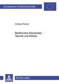 Beethovens Klaviersatz - Technik Und Stilistik