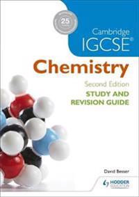 Cambridge IGCSE Chemistry Study and Revision Guide - David Besser - böcker (9781471894602)     Bokhandel