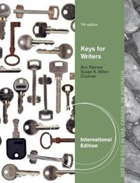 Keys for Writers, International Edition