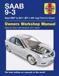 Saab 9-3 Petrol and Diesel Owners Workshop Manual 2007-2011