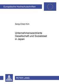«unternehmenszentrierte Gesellschaft» Und Sozialstaat in Japan