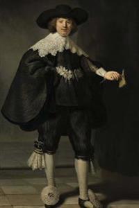 Portrait of Maerten Soolmans Rembrandt Art Journal: 150 Page Lined Notebook/Diary