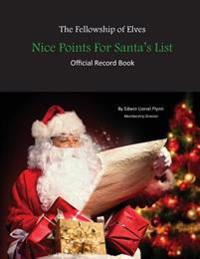 Nice Points for Santa's List: Official Record Book