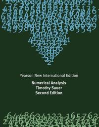 Numerical Analysis: Pearson New International Edition