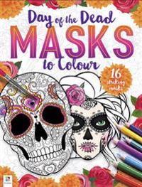Day of the Dead Masks to Colour