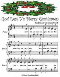 God Rest Ye Merry Gentlemen - Beginner Tots Piano Sheet Music
