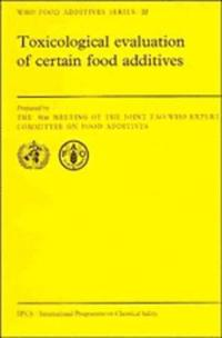 WHO Food Additives Series