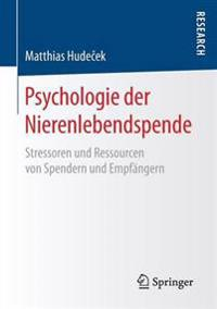 Psychologie Der Nierenlebendspende