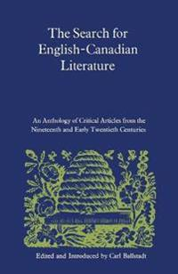 The Search for English-canadian Literature