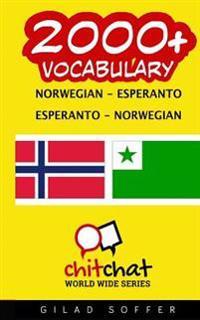 2000+ Norwegian - Esperanto Esperanto - Norwegian Vocabulary
