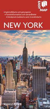 New York EasyMap stadskarta