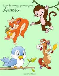 Livre de Coloriage Pour Tout-Petits Animaux 1 & 2