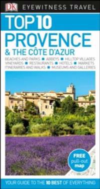 DK Eyewitness Top 10 Travel Guide Provence & the Cote d'Azur