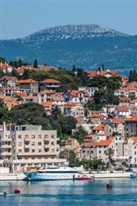 A View of Split Croatia Journal: 150 Page Lined Notebook/Diary