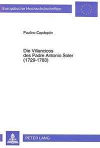 Die Villancicos Des Padre Antonio Soler (1729-1783)