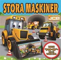 JCB: Stora maskiner - pop-up-bok