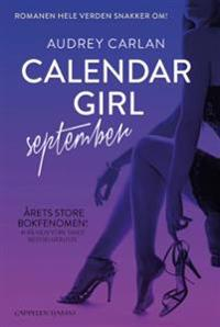 Calendar girl; September