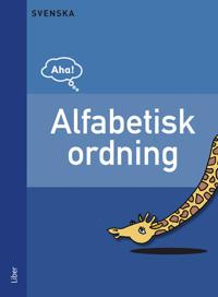 Aha Svenska Alfabetisk ordning