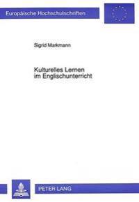 Kulturelles Lernen Im Englischunterricht