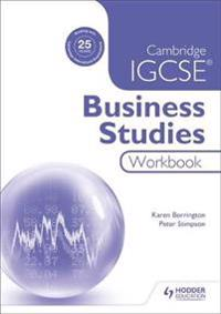 Cambridge IGCSE Business Studies Workbook