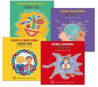 Enjoy Your Cells Coloring Books Set