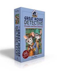 The Great Mouse Detective Crumbs and Clues Collection: Basil of Baker Street; Basil and the Cave of Cats; Basil in Mexico; Basil in the Wild West; Bas