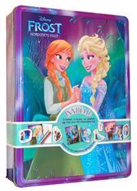 Nordlysets magi. Disney tinnboks. 3 bøker, 4 tusjer, 1 plakat og 50 klistremerker