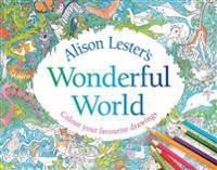 Alison Lester's Wonderful World: Colour Your Favourite Drawings