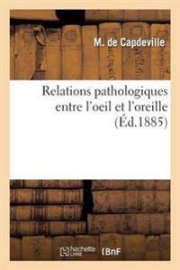 Relations Pathologiques Entre L'Oeil Et L'Oreille