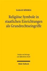 Religiose Symbole in Staatlichen Einrichtungen ALS Grundrechtseingriffe