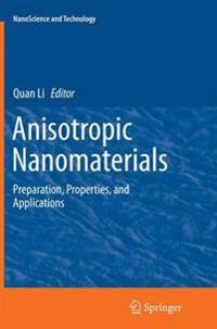 Anisotropic Nanomaterials