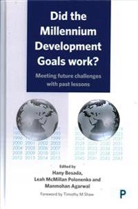 Did the Mdgs Work?: Meeting Future Challenges with Past Lessons