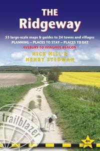 The Ridgeway: British Walking Guide: Planning, Places to Stay, Places to Eat; Includes 53 Large-Scale Walking Maps