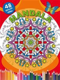 Mandala (röd)