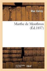 Marthe de Montbrun
