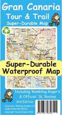Gran Canaria Tour & Trail Super-Durable Map