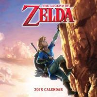 The Legend of Zelda 2018 Calendar