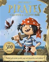 Jonny duddles pirates colouring & activity book