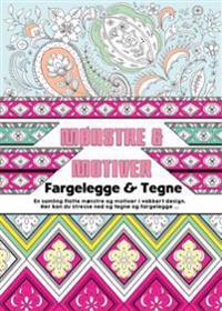 Mønstre & motiver. Fargelegge & tegne -  pdf epub