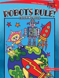 SPARK Robots Rule! Coloring Book