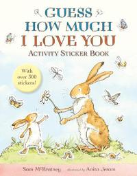 Guess how much i love you - activity sticker book