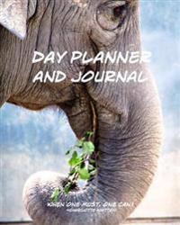 Day Planner and Journal: Time Management, Personal Organizer and Appointment Book