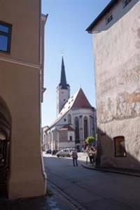 View of a Church in Old Town Wasserburg Germany Journal: 150 Page Lined Notebook/Diary